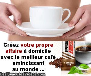 UN BON CAFE POUR MAIGRIR ET GAGNER DE L'ARGENT