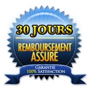 Garantie Satisfait ou Remboursé pendant 30 Jours